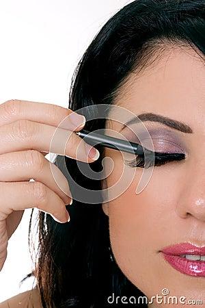 Free Makeup Closeup Stock Photography - 976252