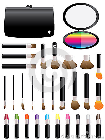 Makeup Colorful Set_eps