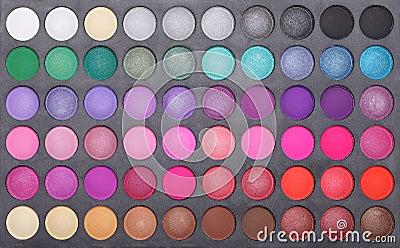 Makeup eye shadows