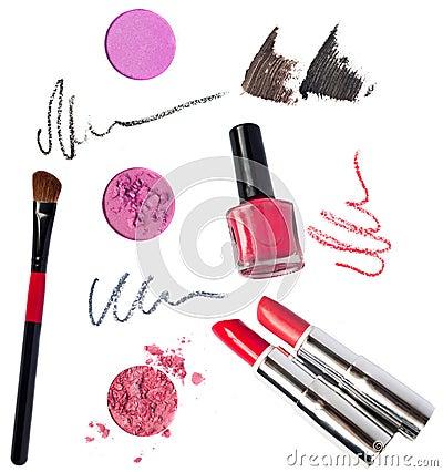Free Makeup Kit Stock Photo - 31825940