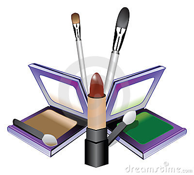 MAKEUP KIT WITH BRUSHES (click image to zoom