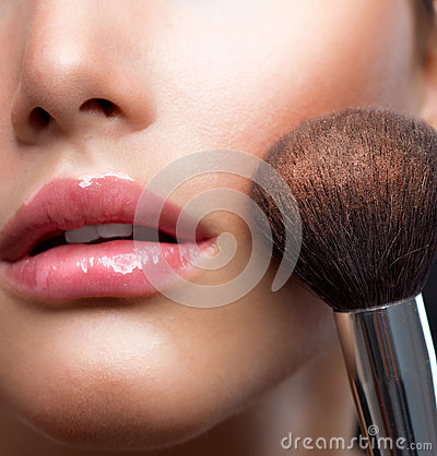 Free Makeup. Make-up Face Royalty Free Stock Photography - 25698097