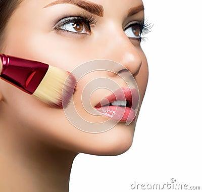 Free Makeup. Make-up Face Stock Images - 25698124