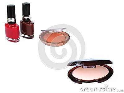 Makeup nail polish