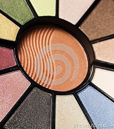Makeup pallet