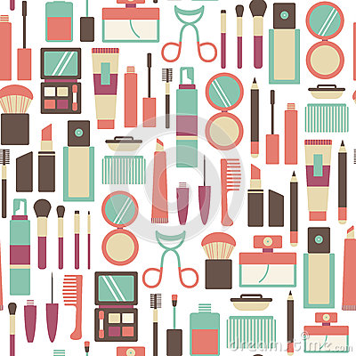 Free Makeup Pattern Stock Photography - 40799522