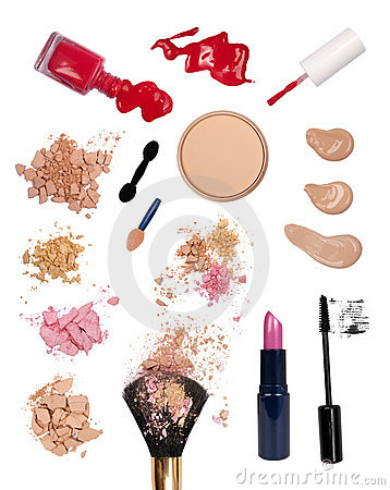 Free Makeup Products Stock Photos - 16402833