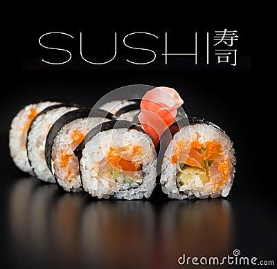 Free Maki Sushi Stock Photo - 29425320
