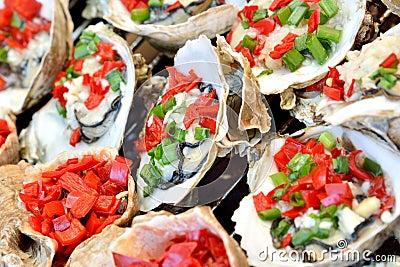 Toast oyster