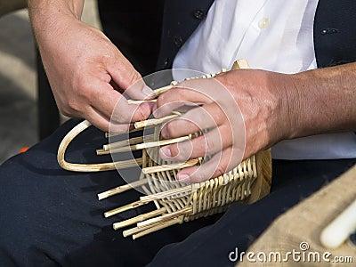 Making basket
