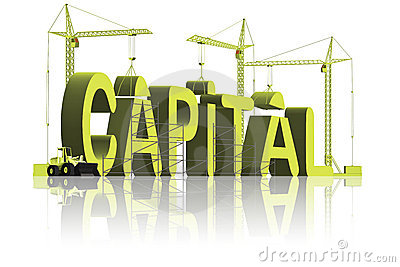 Making or build capital be rich gain fortune