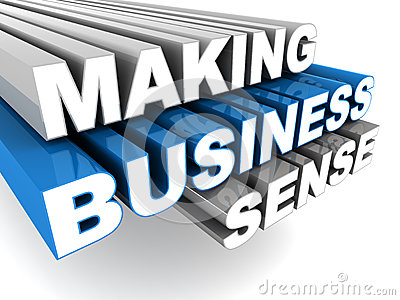 Making business sense
