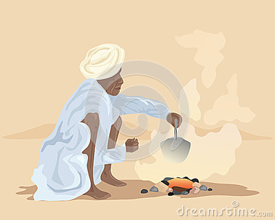 Making chai