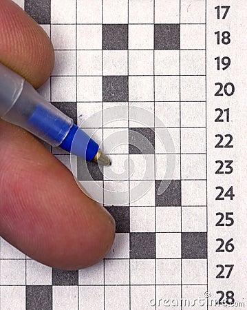 Making crossword