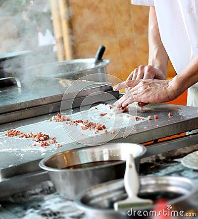 Free Making Dumpling Royalty Free Stock Photo - 9621195