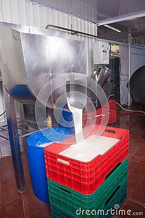 Making fresh cheese
