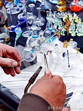 Making glassware