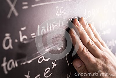 Making mistakes and wrong answer concept. Stock Photo