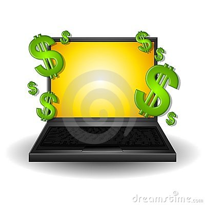Free Making Money On The Web Stock Photos - 4463193