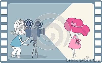 Making movie