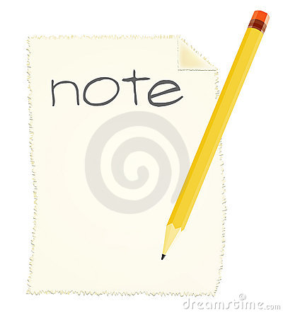 Making a note
