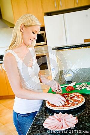 Making Pizza