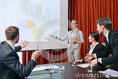 Making a presentation