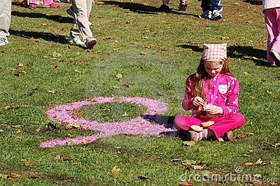Making Strides Against Breast Cancer Editorial Stock Photo