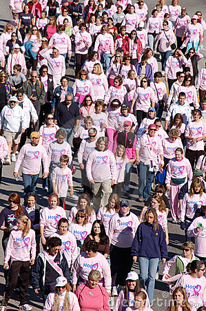 Free Making Strides Against Breast Cancer Stock Images - 6793554