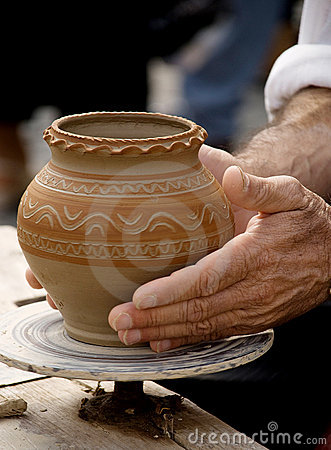 Free Making Traditional Pottery Stock Photo - 17588000