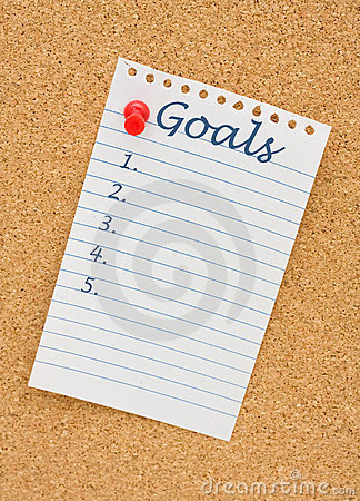 Making your goals