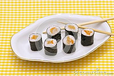 Makizushi. Sushi