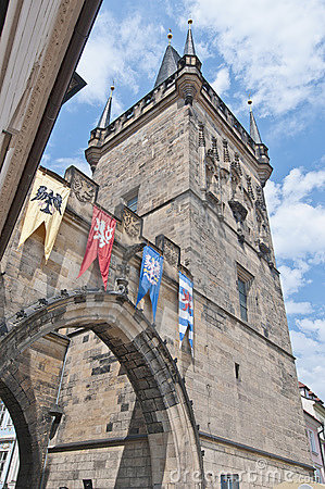 Free Mala Strana Bridge Tower Royalty Free Stock Photo - 20326315