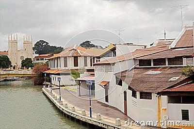 Malacca cityscape