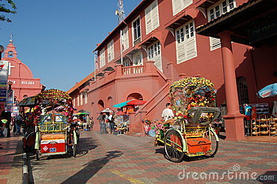 Malacca Histrorical City Editorial Stock Image