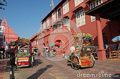 Malacca Histrorical City Editorial Stock Image