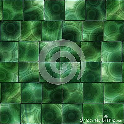 Free Malachite - Seamless Background Tile Royalty Free Stock Photography - 12031377