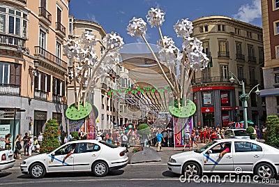 Malaga Editorial Photo