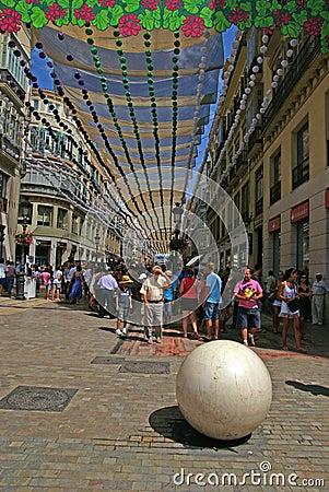 Malaga Editorial Stock Photo