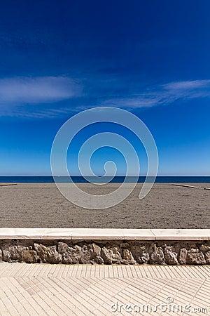 Malaga esplanade