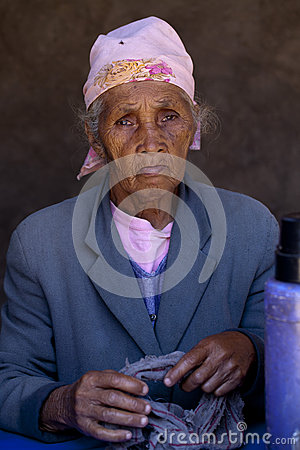 Malagasy women Editorial Stock Image