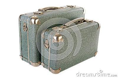 Malas de viagem do vintage