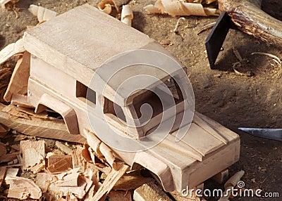 Malawian wood carving