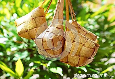 Malay compact glutinous rice