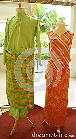 Malay costume