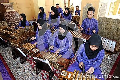Malay Gamelan Editorial Image