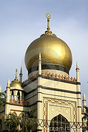 Malay islamic mosque