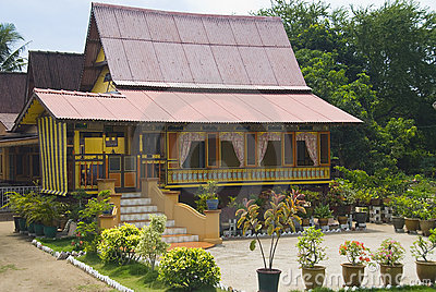malay rural house