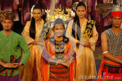 Malay Traditional Dance Editorial Image