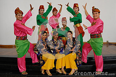 Malay Traditional Dance Editorial Photography